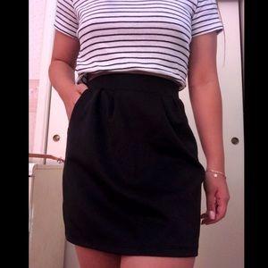 Dresses & Skirts - Girl's Black Circle Skirt